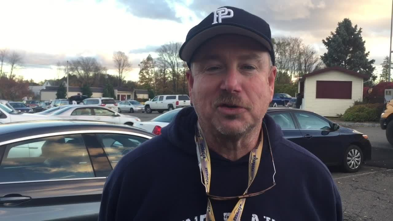 Pine Plains football coach Rob Scott breaks down his team's 16-12 loss to Tri-Valley in the inaugural Eight-man Football championship game.