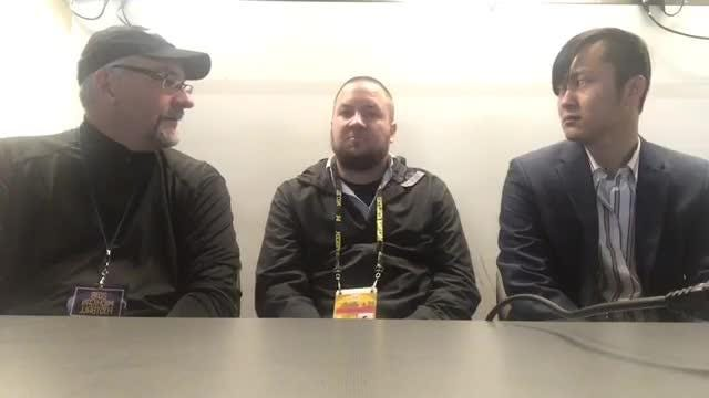 Free Press writers Jeff Seidel, Nick Baumgardner and Orion Sang react to Michigan's eighth straight win, a 42-7 whopping of Penn State, Nov. 3, 2018.