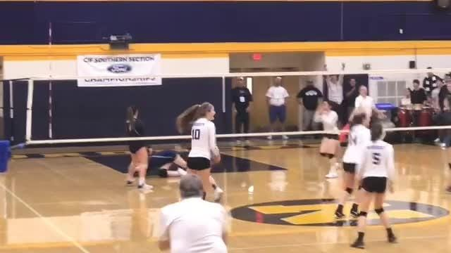 Nordhoff's remarkable run in the CIF-SS girls volleyball playoffs comes up short in the final as the Rangers fall in four games to Linfield Christian.