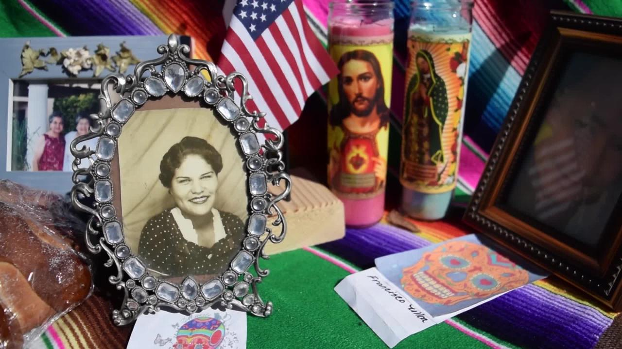 Area residents attending the Dia de los Muertos festival in Mesilla tell the Sun-News what the event means to them.