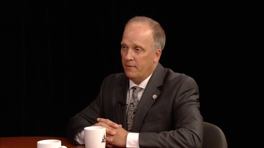 Attorney General Brad Schimel on the Wisconsin Department of Justice and Wisconsin Statewide Intelligence Center's advisory for law enforcement in regards to the legality of producing and selling hemp CBD oil in Wisconsin.