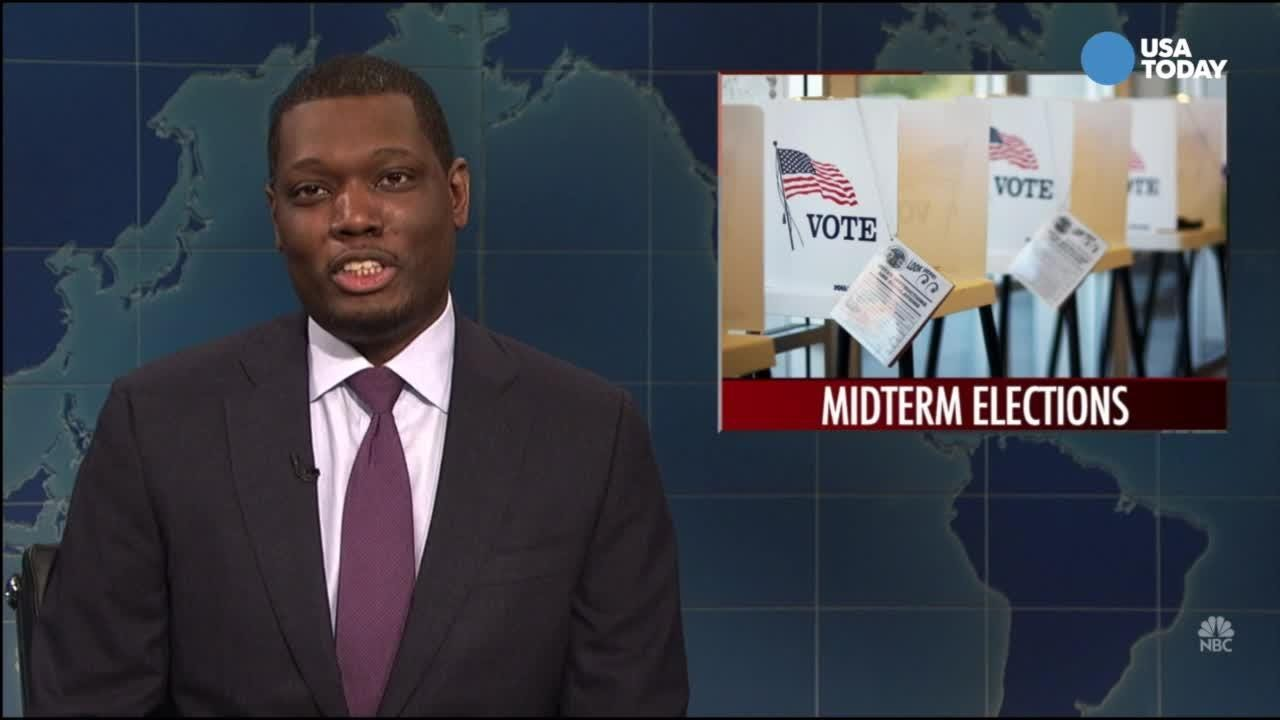 A look at Tuesday's midterms from the late night comics. Watch our favorite jokes, then vote for yours at usatoday.com/opinion.