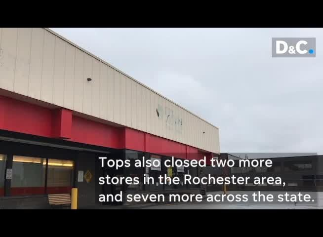 Rochester resident Cassandra Williams speaks on the hardship surrounding the Tops store closing on Lake Avenue.