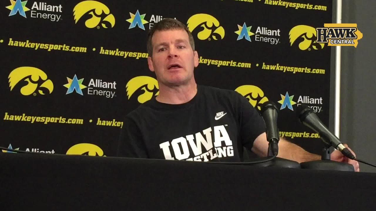 f6ff21df8c Iowa's Tom Brands on recruiting: You don't get points for being No. 2.