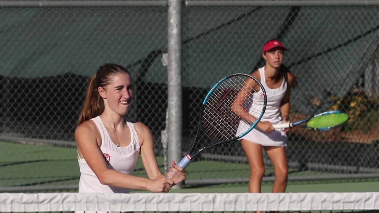 Palm Desert girls CIF tennis vs. Ayala