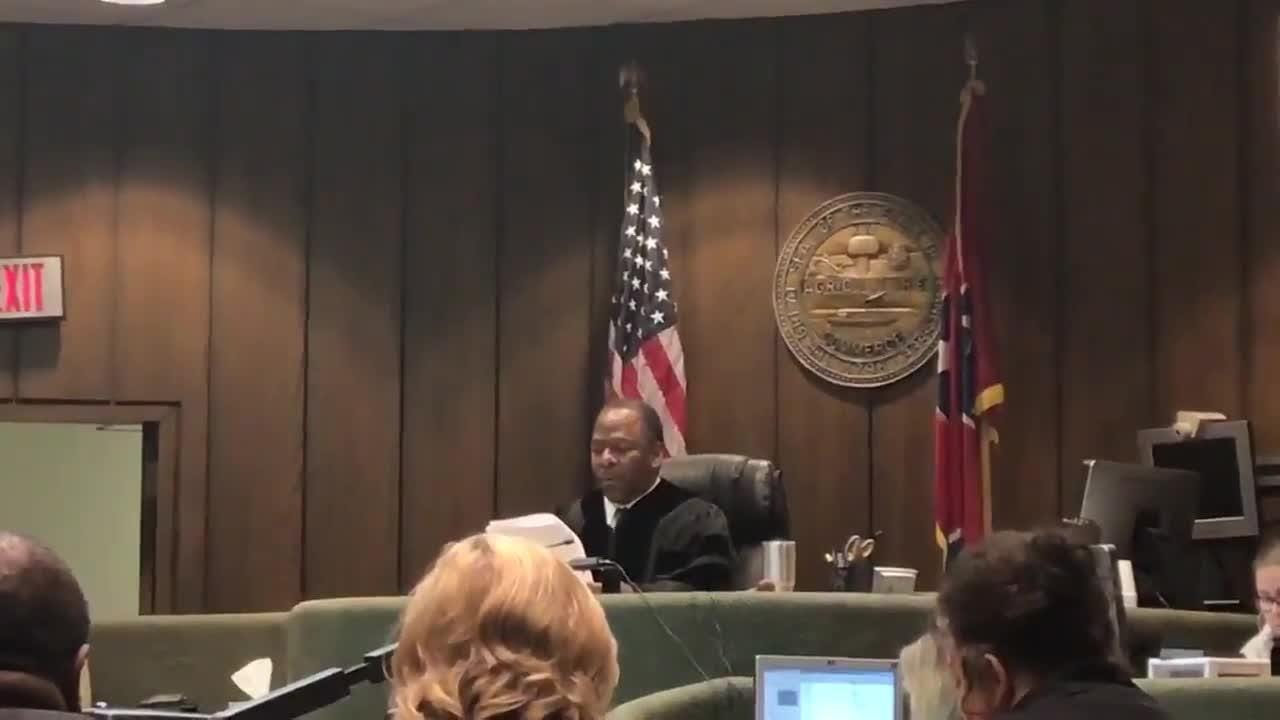 Judge Lee Coffee reads verdict for Tremaine Wilbourn, sentenced to life without the possibility of parole.
