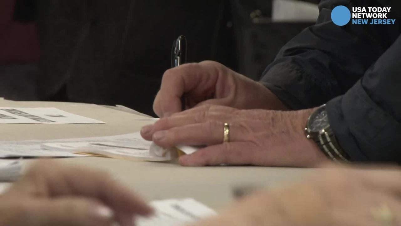 We check the mood of the voter in two prominent NJ polling places