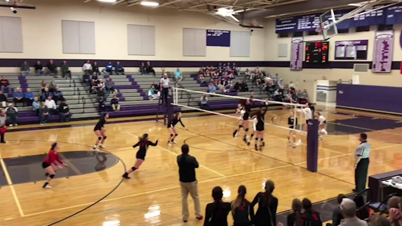 Highlights: Delone Catholic wins five-set thriller in state tournament
