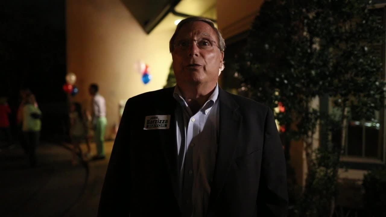 Mayoral Candidate John Barzizza on the Germantown election night race