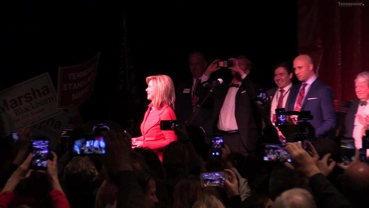 Marsha Blackburn becomes Tennessee's first ever female Senator