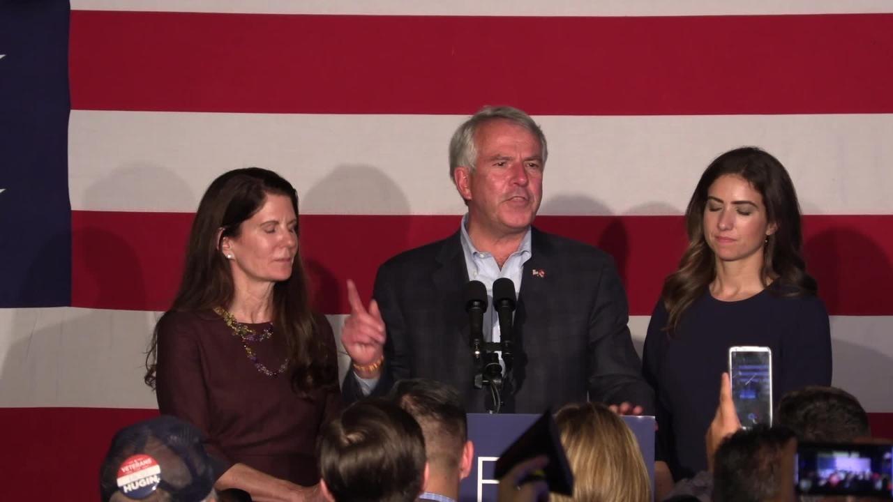 Bob Hugin concedes in senate race against Menendez