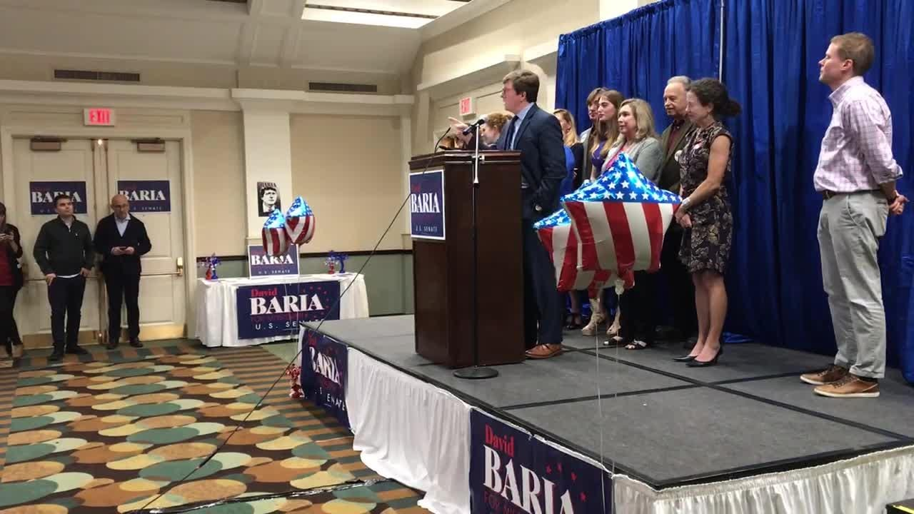 Baria's closing remarks after results of election are in