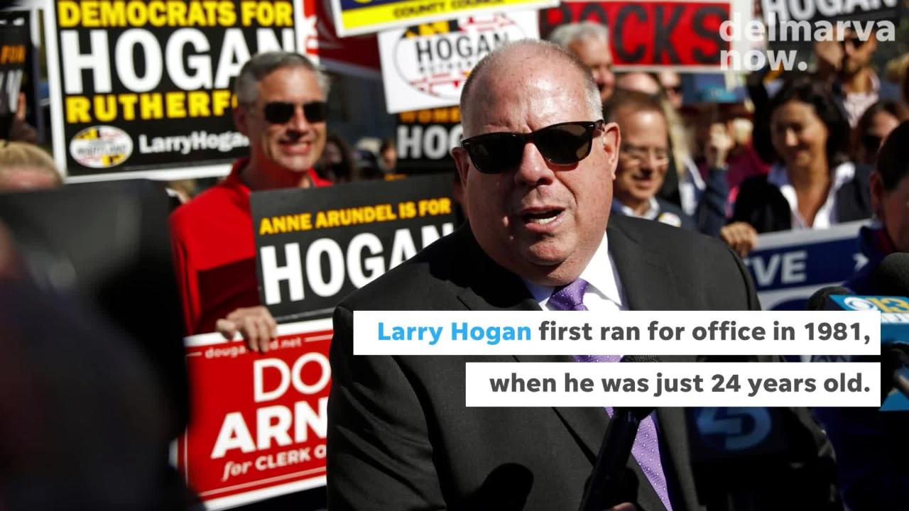 Everything you need to know about Maryland governor Larry Hogan.
