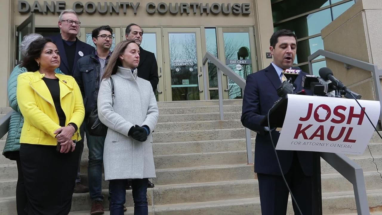 Josh Kaul declares victory in the attorney general with ballot count still close
