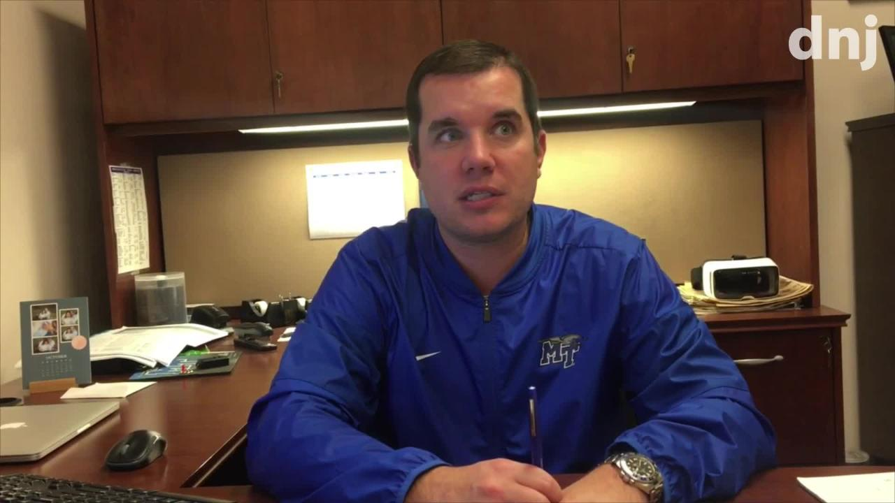 MTSU women's basketball assistant coach Matt Insell talks about rejoining his father, Rick Insell, on the bench.