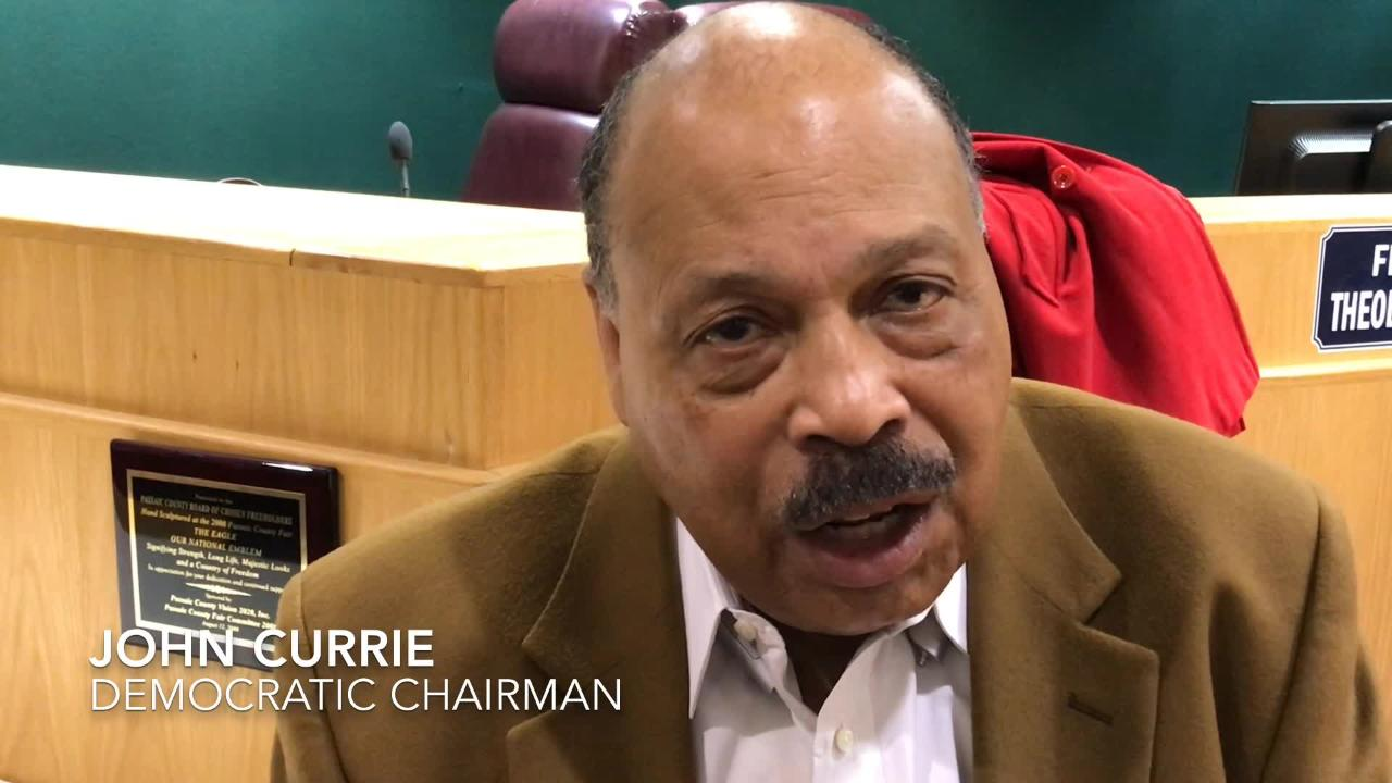 Passaic County Democratic chairman talks about the party sweep of the county election.