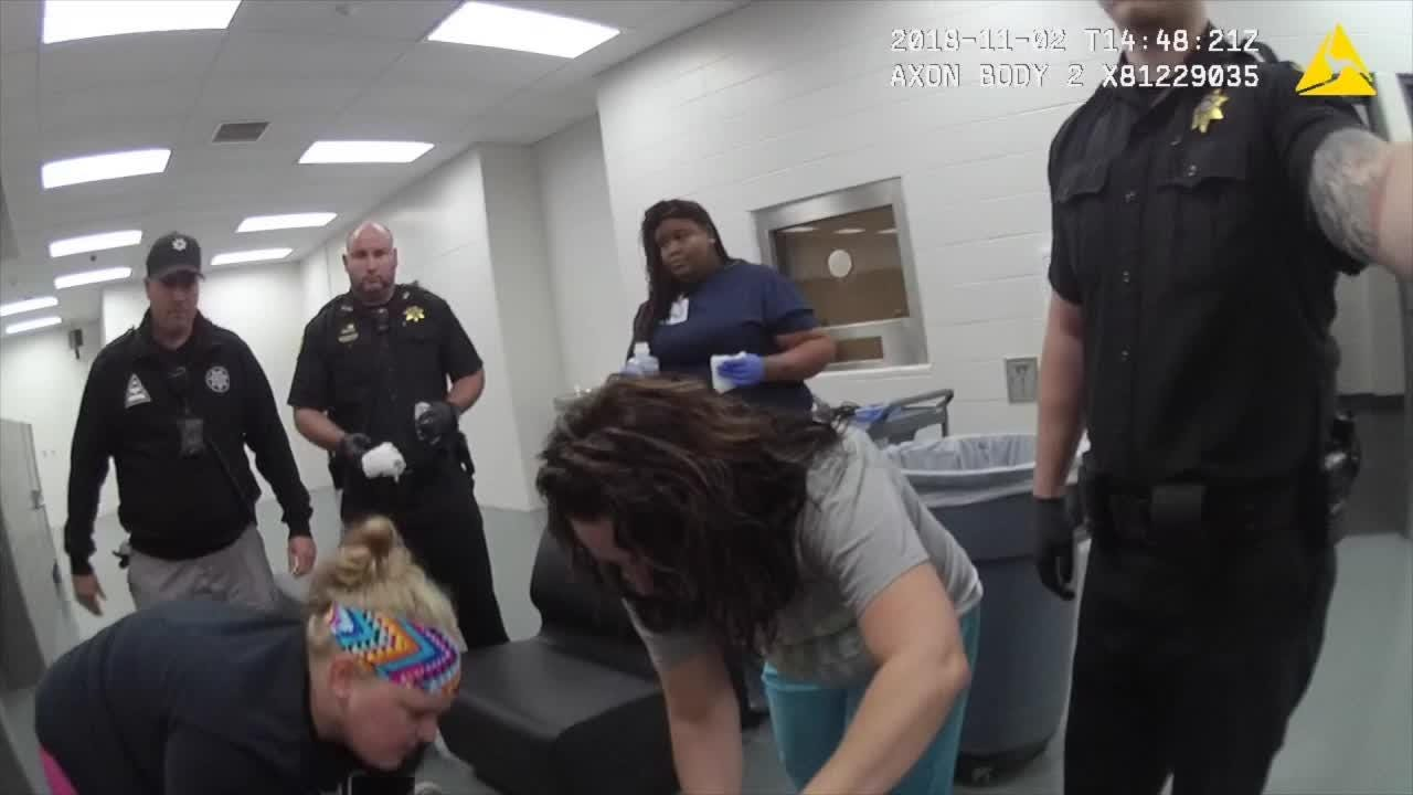 Body cam footage from Kenton County Jail incident