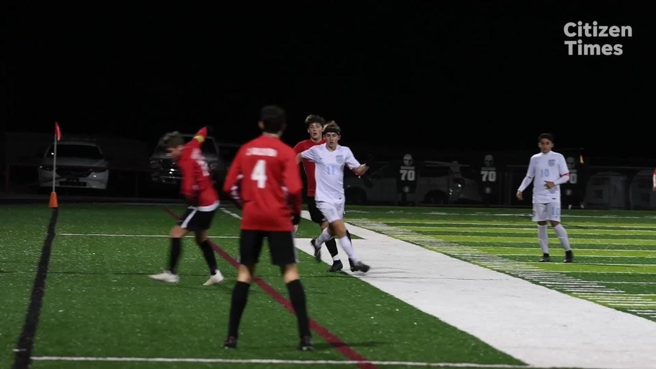 Asheville took on Watauga in a playoff game on Nov. 8, 2018.