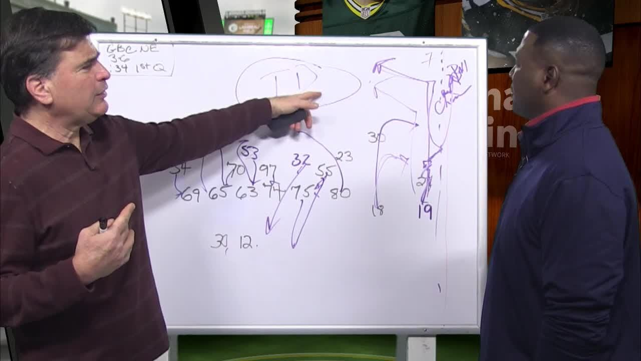 Former Packers All-Pro safety LeRoy Butler and JS reporter Tom Silverstein diagram how the Packers and Dolphins each handled a free rusher in previous games and how they might deal with it next time.