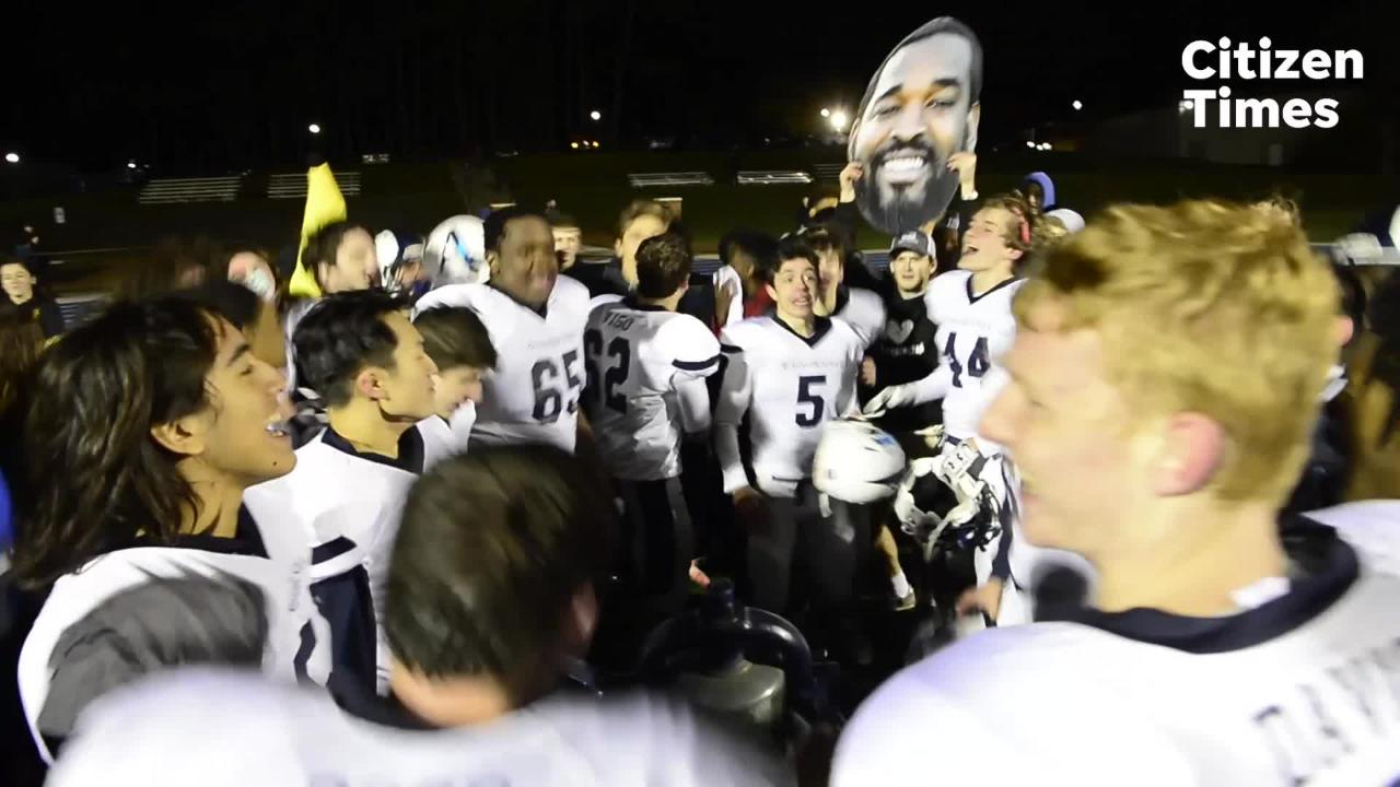 The Asheville School defeated Southlake Christian 33-28, advancing them to the state championship game.