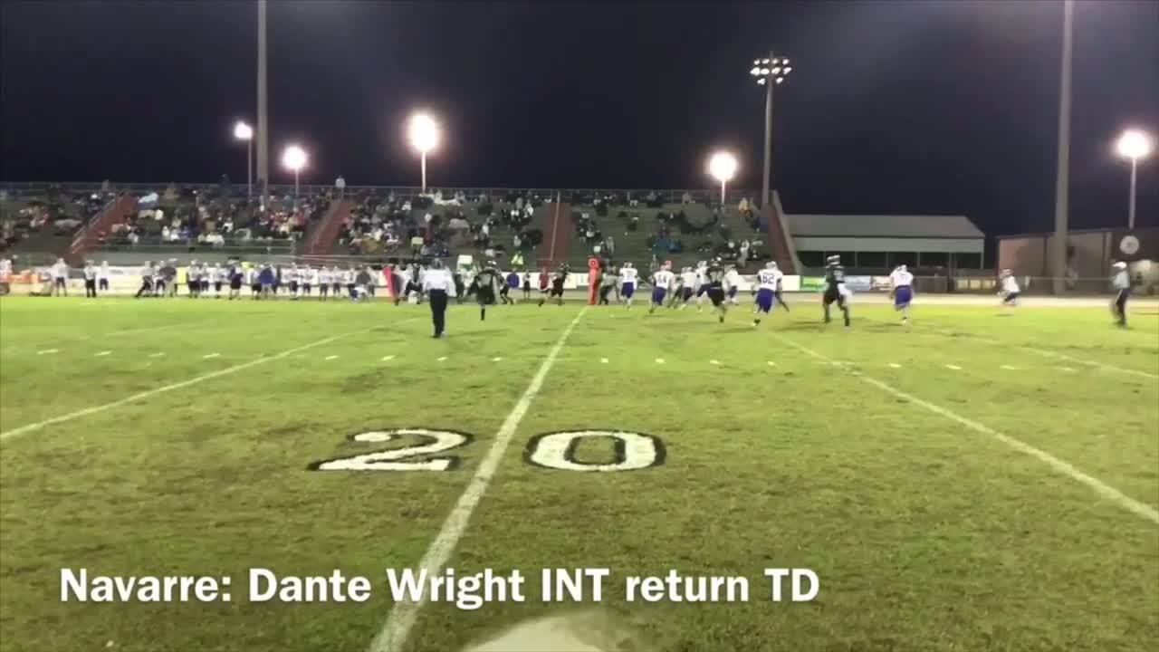Playoff highlights of Jay, Navarre and West Florida.