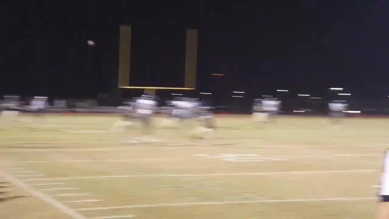 73-yard TD pass by Spencer Brasch to take the lead over Casteel, 34-27, with 28 seconds left in the game.