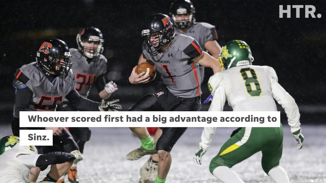 Edgar defeated Reedsville in a WIAA Division 7 state semifinal in brutal winter conditions.