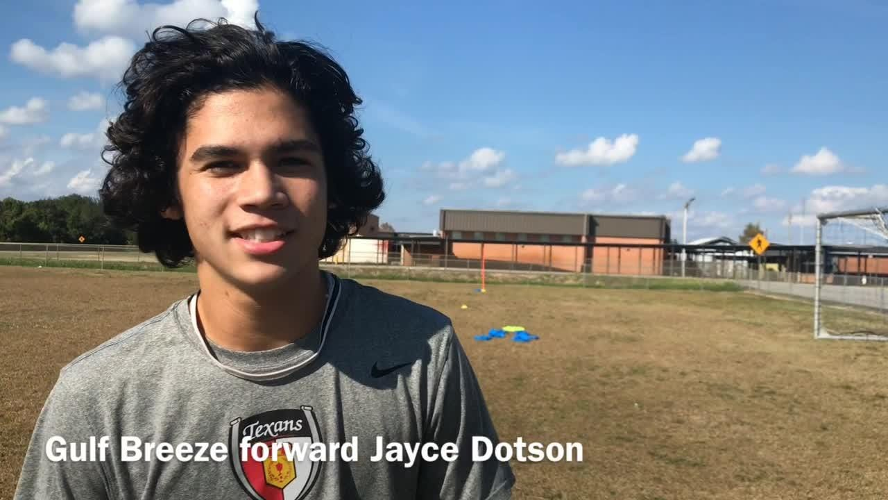 """The Gulf Breeze boys soccer team rose to No. 1 in Class 3A before crashing out in the district semifinals last year. They're """"itching"""" for redemption."""