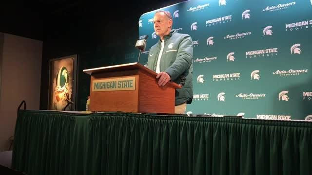 Michigan State football's Mark Dantonio: Three turnovers killed us against Ohio State