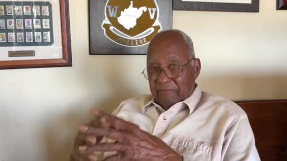 Retired Maj. Gen. Edward Greer talks about how he entered the Army during World War II and on segregation.