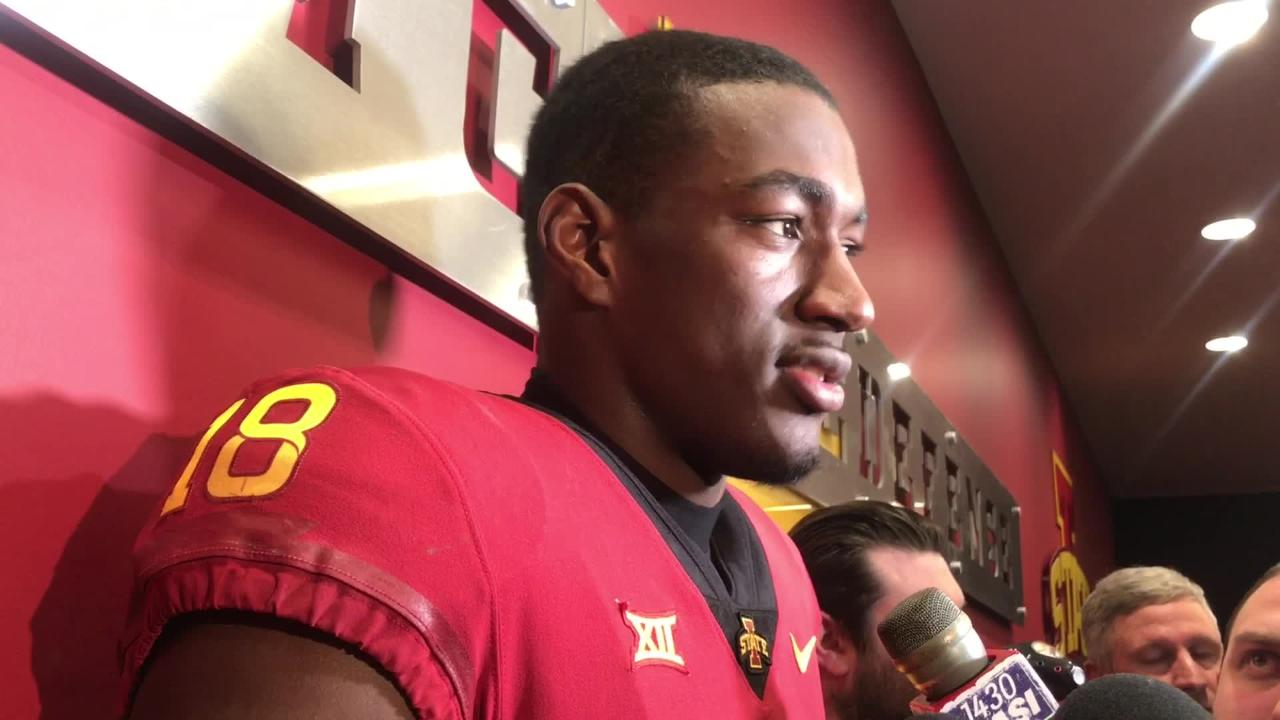 Hakeem Butler on Iowa State's crazy win over Baylor