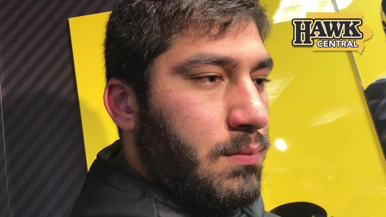 Iowa defensive end A.J. Epenesa details the difficulty of repeated losing and what his team needs to do to stop skid