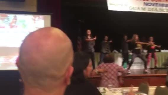 Diabetes Conference attendees get up and dance for health