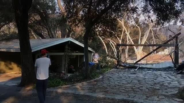 A visit Saturday to Oak Forest Estates in Westlake Village showed that about 25 homes had been destroyed by the Woolsey Fire.
