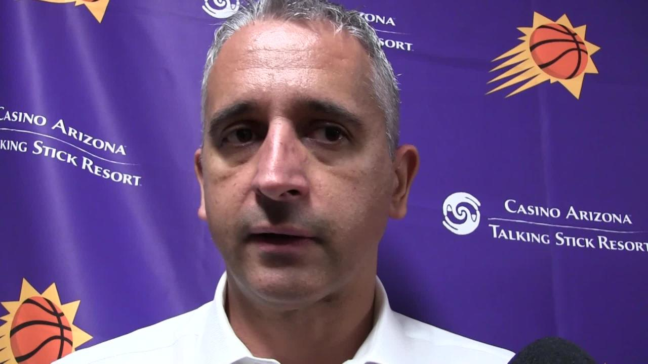 Phoenix Suns coach Igor Kokoskov breaks down Saturday night's 20-point loss to New Orleans Pelicans.