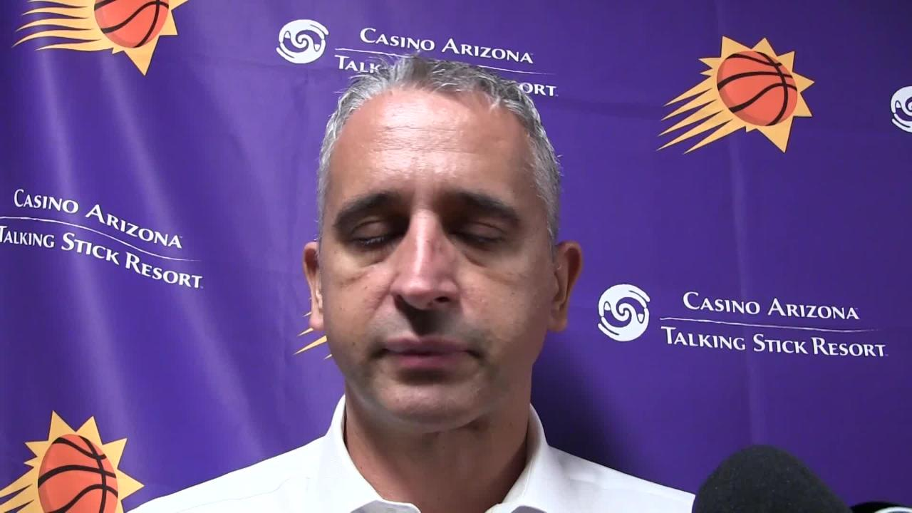 Phoenix Suns coach Igor Kokoskov wanted Deandre Ayton to start Saturday's game at New Orleans with urgency as the Pelicans won, 119-99, at home.