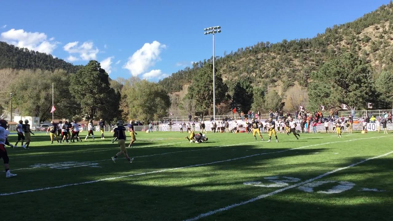 The Ruidoso Warriors lost to the Aztec Tigers at home in the first round 4A playoffs, but fought hard.
