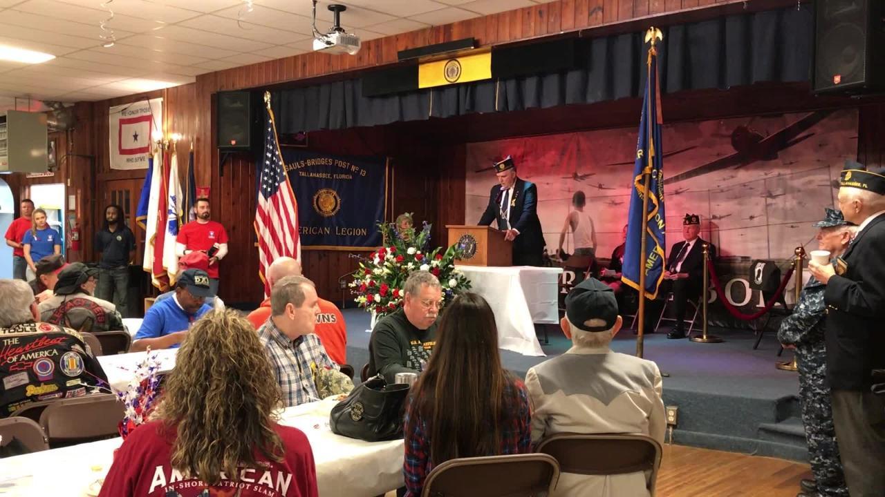 American Legion serves Veterans Day breakfast.
