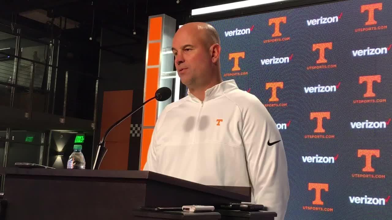 Jeremy Pruitt: Vols have lots to learn from Kentucky game