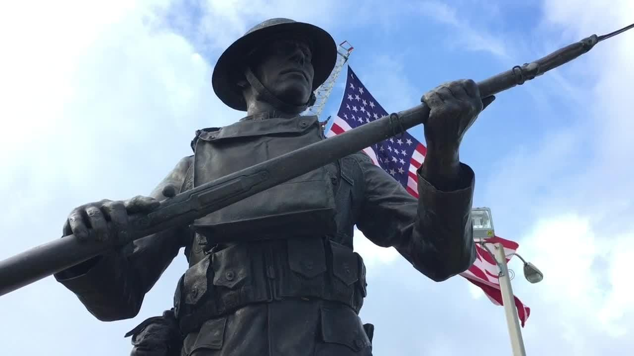 A Monday morning tribute to veterans and to the 100th anniversary of the end of WW 1 was held at Veterans Memorial Center and Museum in Merritt Island.