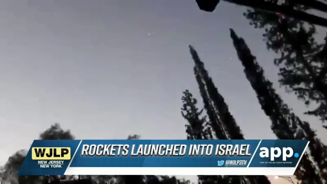 Rockets fired into Israel; Lakewood gas leak sparks a fire
