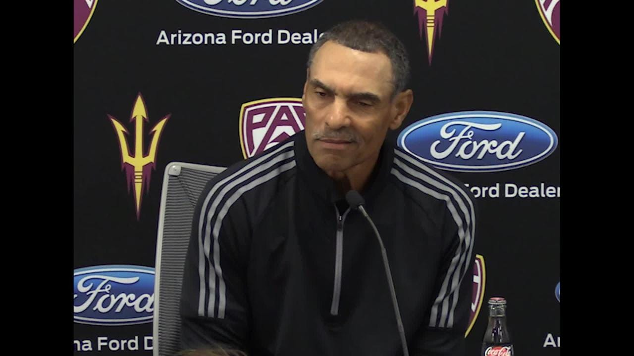 check out 5c9fa 467eb ASU coach Herm Edwards on what going to a bowl would mean for the team