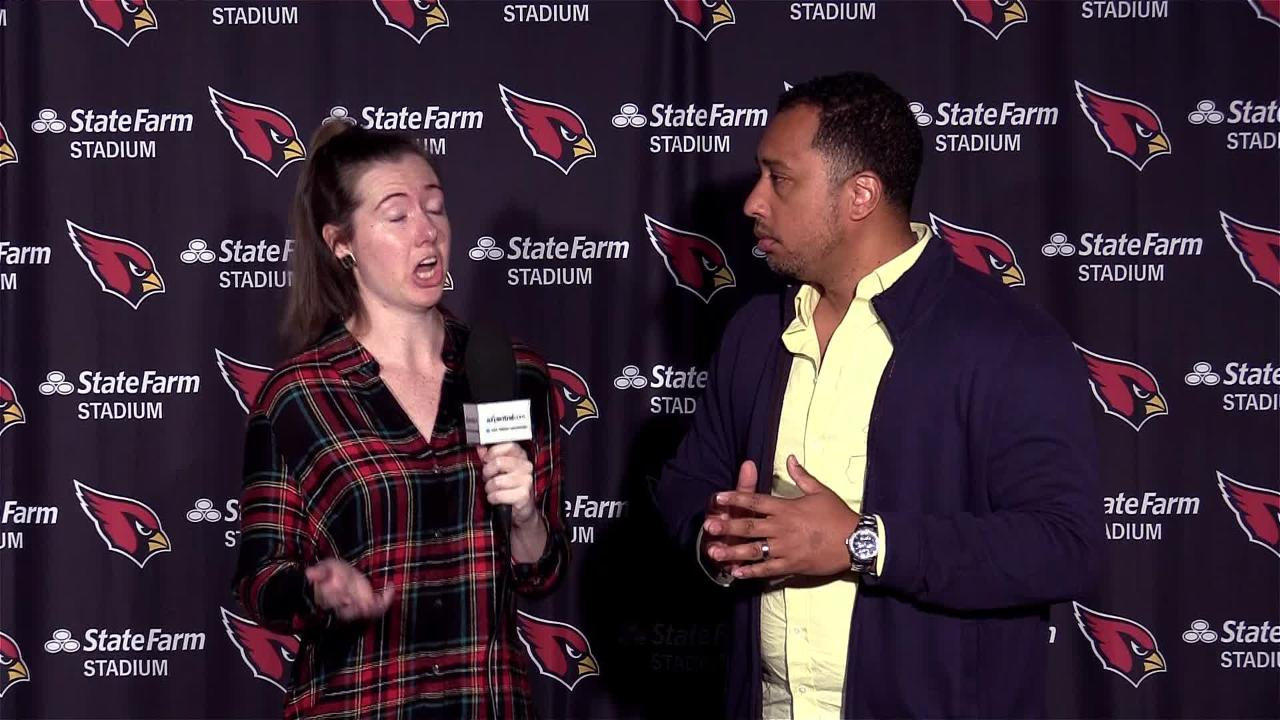 azcentral sports' Katherine Fitzgerald and Greg Moore evaluate the Cardinals' loss to the Kansas City Chiefs after practice on Monday.