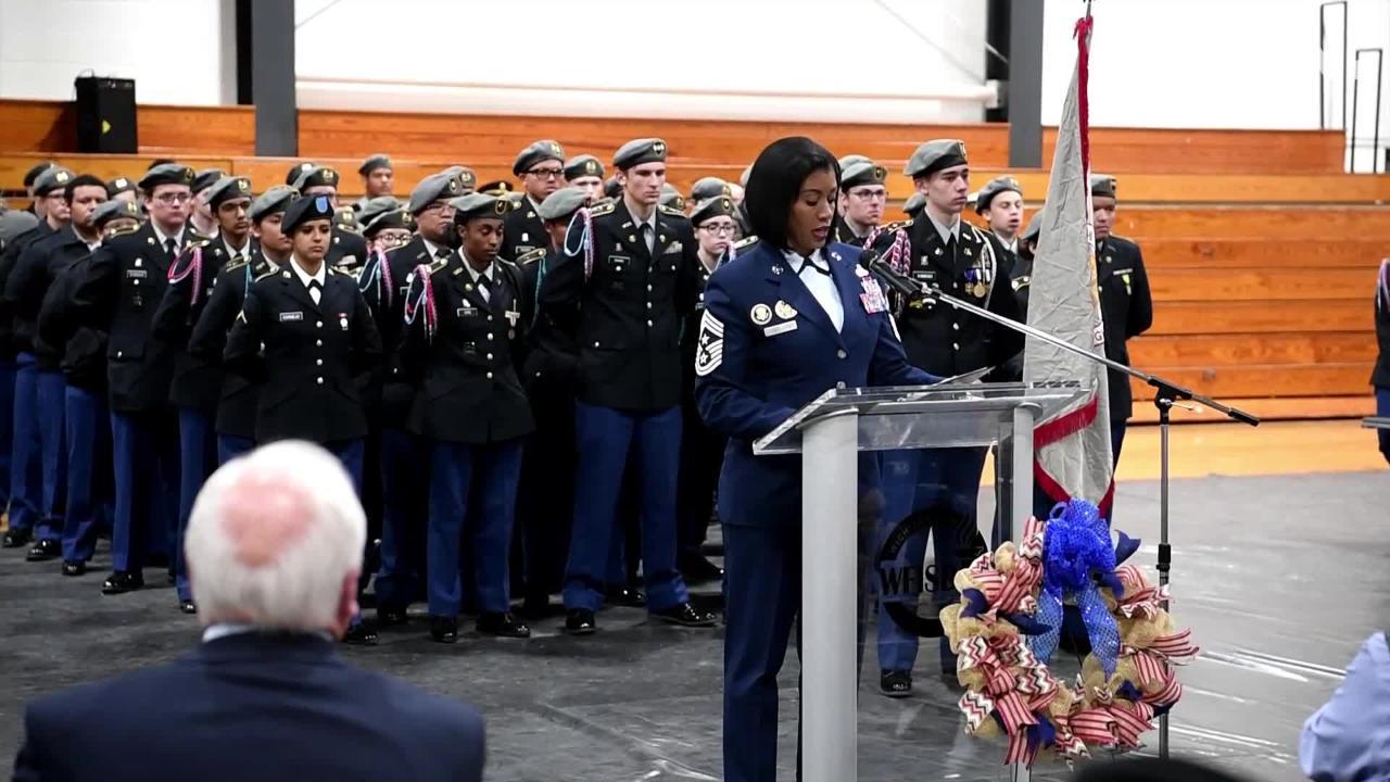WFISD Veterans Day Ceremony
