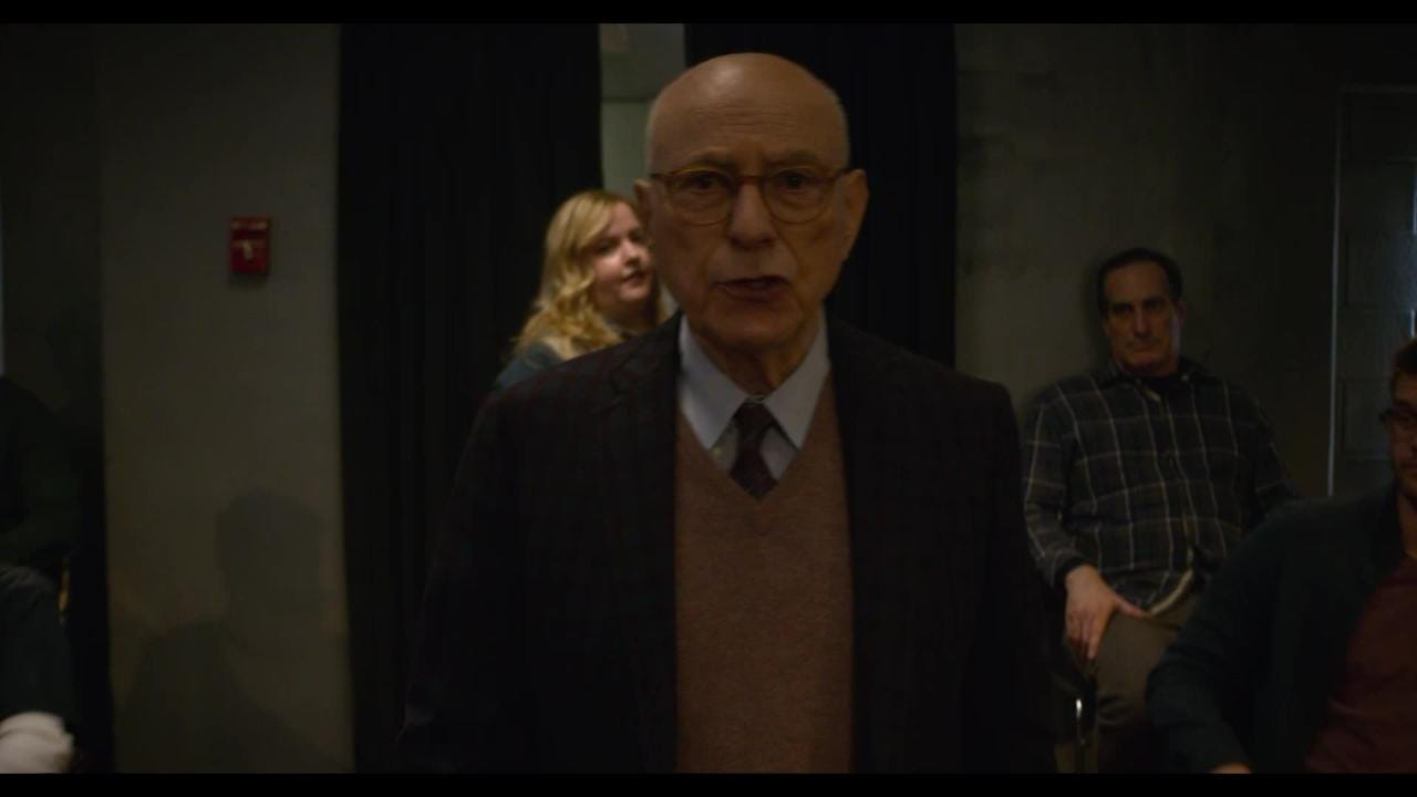 Exclusive clip from the new Netflix series 'The Kominsky Method,' which stars Michael Douglas an acting teacher and Alan Arkin as his best friend and former agent.