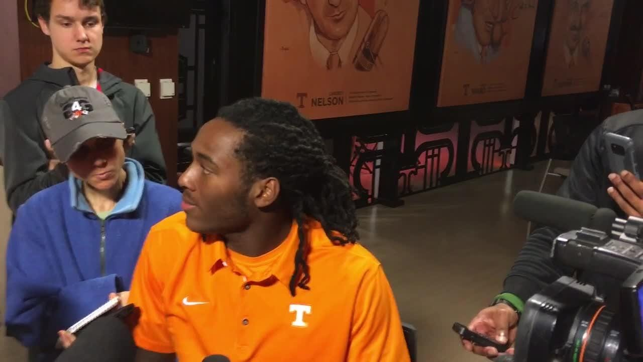 UT Vols practice Hail Mary plays every week, Marquez Callaway says