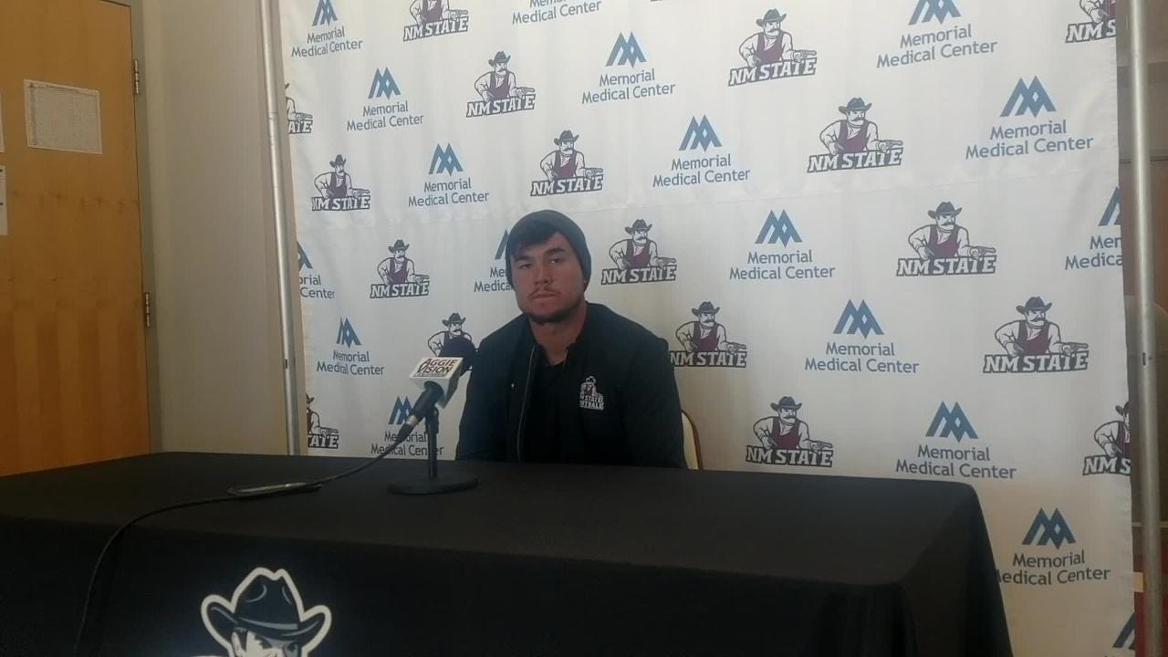 New Mexico State quarterback looks forward to BYU
