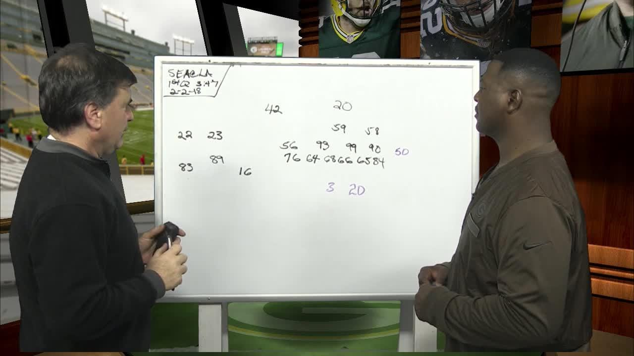 Former Packers All-Pro safety LeRoy Butler and JS reporter Tom Silverstein dissect a creative play designed to get Davante Adams open and a run-option that makes the Seattle Seahawks offense so dangerous.