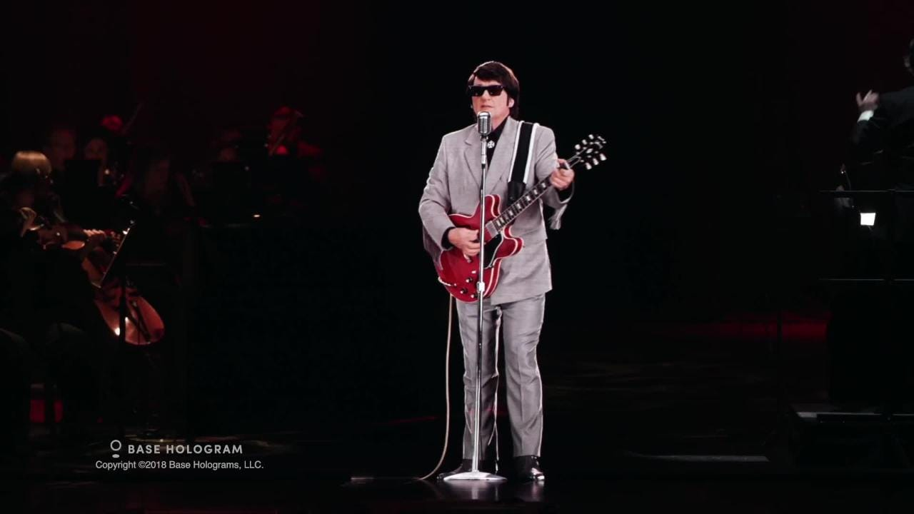 A first-of-its-kind tour brings rock icon Roy Orbison to life as a hologram. The tour visits B. B. Mann Performing Arts Mann Hall on Saturday.