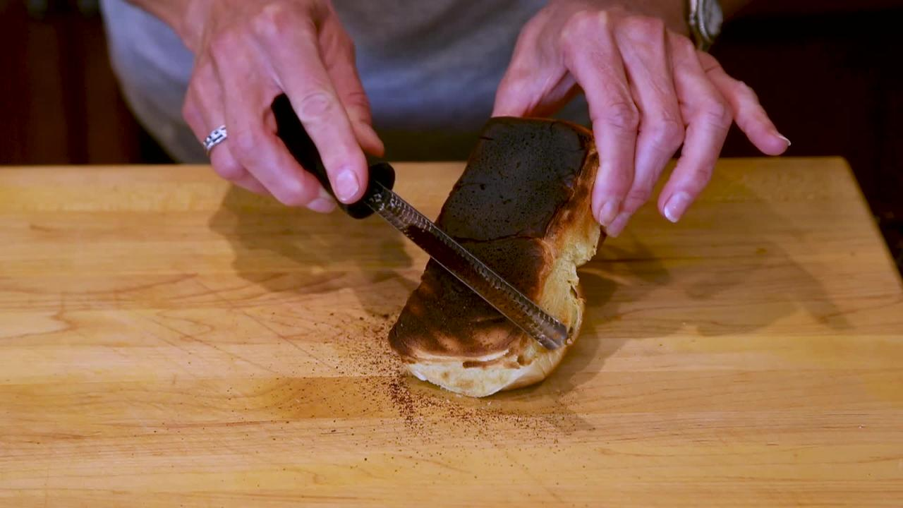Robin Miller shows how to quickly and easily save those rolls you accidentally burned.